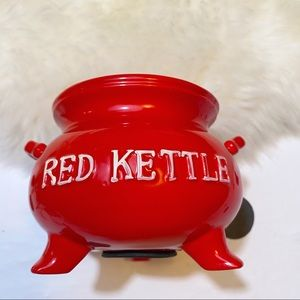 Lego Other - Vintage Red Kettle Penny Pot
